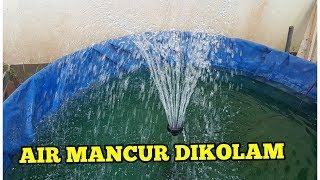 Cara Pemasangan Air Mancur Di Kolam Pekarangan Rumah