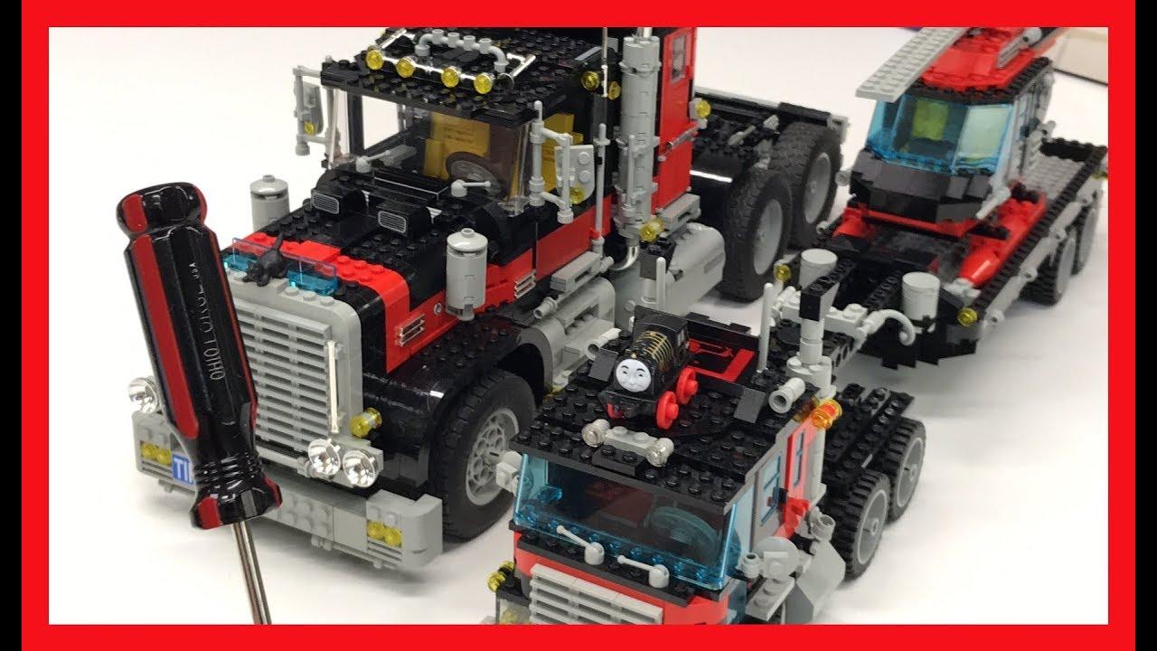 LEGO Model Team Truck Comparison, Screw Driver, and Hiro - YouTube
