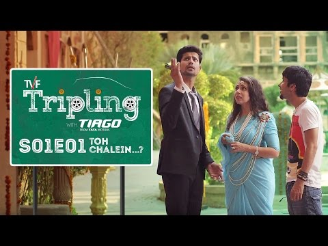 TVF Tripling S01E01 - 'Toh Chalein...?' | Binge watch all 5