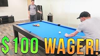 $100 POOL CHALLENGE JEROMEASF VS BAJANCANADIAN!