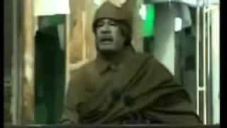 القذافى متأثر بخطاب اللمبى