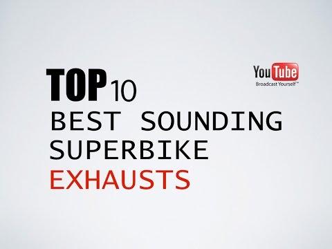 Top 10 Best Sounding Superbike Exhausts
