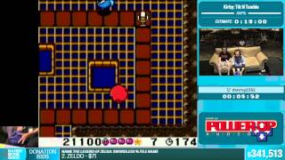 Kirby: Tilt N Tumble by danray2352 in 15:16 - Summer Games Done Quick 2015 - Part 71