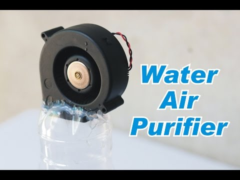 How to Make Water Based Air Purifier - Homemade Air Humidifier