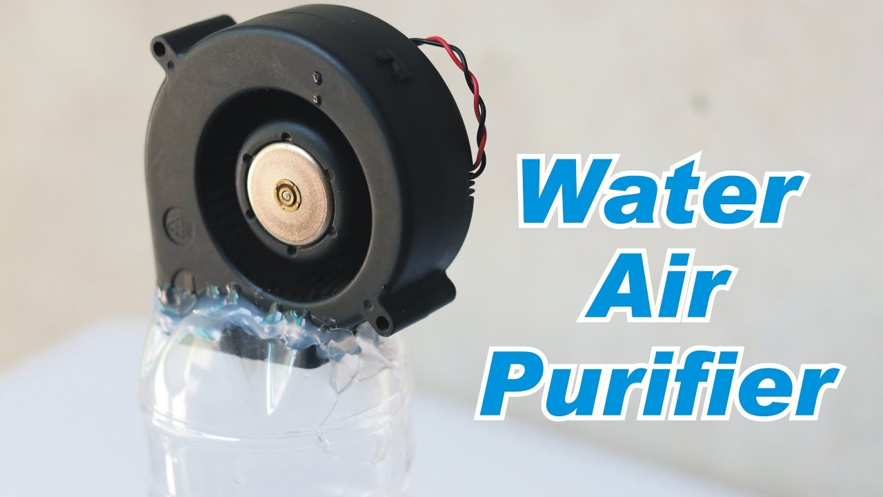 Water Based Air Cleaner : How to make water based air purifier homemade