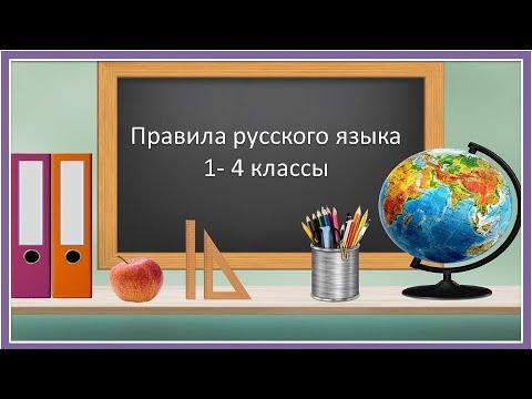Книга Правила русского языка для начальной школы