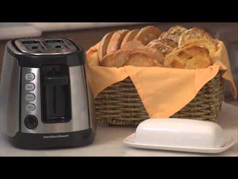 Hamilton Beach Keep Warm Toaster Stainless 22811 24810