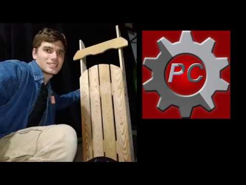 How to Make a Decorative Sled from a Pallet