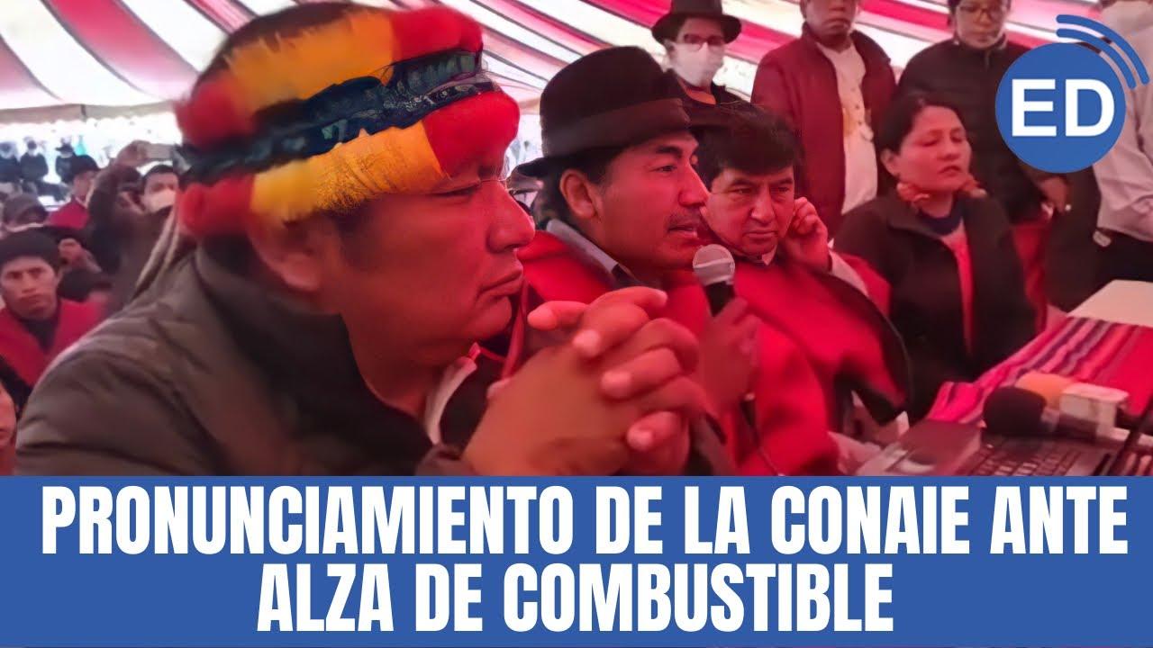 """Download Leonidas Iza: """"Es un paquetazo, nos declaramos en estado de excepción y resistencia"""""""