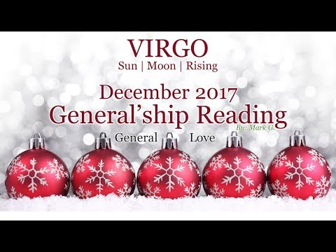 VIRGO Make It Right Virgo! Dec 2017 Love & General Tarot
