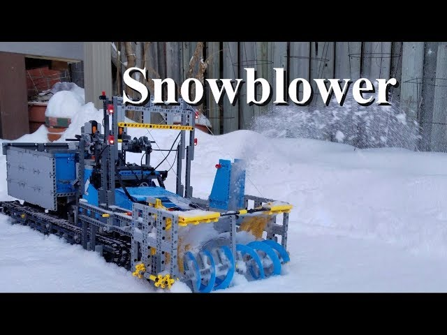 SnowBlower – Lego Technic 42070 6×6 All Terrain Tow Truck