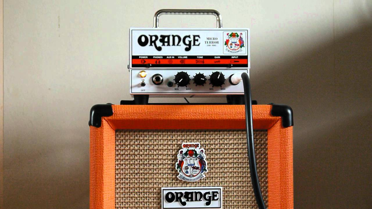 Alkaline Trio - Radio Guitar Cover - Orange Micro Terror + PPC108 ...