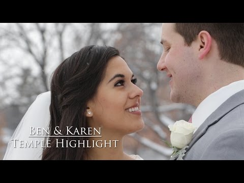 Ben & Karen | Utah Temple Wedding // Reign Media