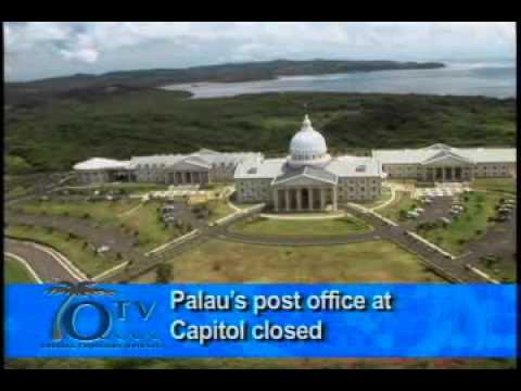Palaus Post Office At The Capitol Closed