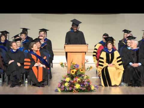 Student Address by Chidiogo Akunyili
