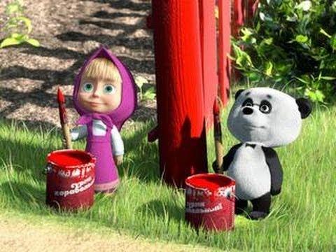 Маша и Медведь - Раскраска для Детей на Андроид. - YouTube