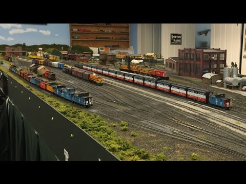 Layout Visit – Dan Lang's Boston & Maine HO Model Railroad Tour