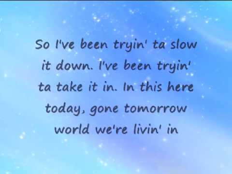 Don't Blink - Kenny Chesney (w  lyrics).flv