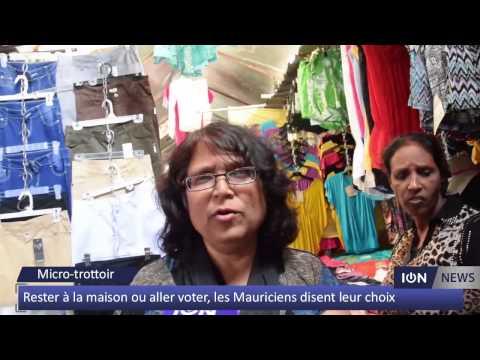 Rester la maison ou aller voter les mauriciens disent for Aller a la maison