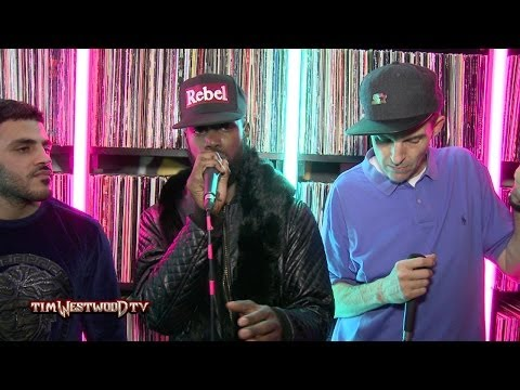 Ghetts, Wretch 32 & Mercston on Rebel With a Cause album - Westwood Crib Session