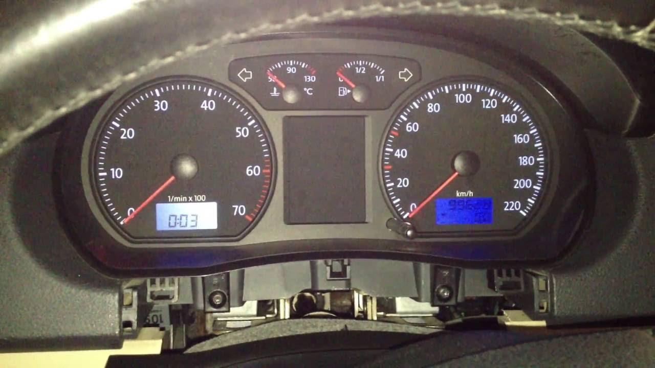 VW Polo 2007 (9N3) Buzzer (Warning speaker) problem and solution/VW Polo  far açık ikaz sesi problemi