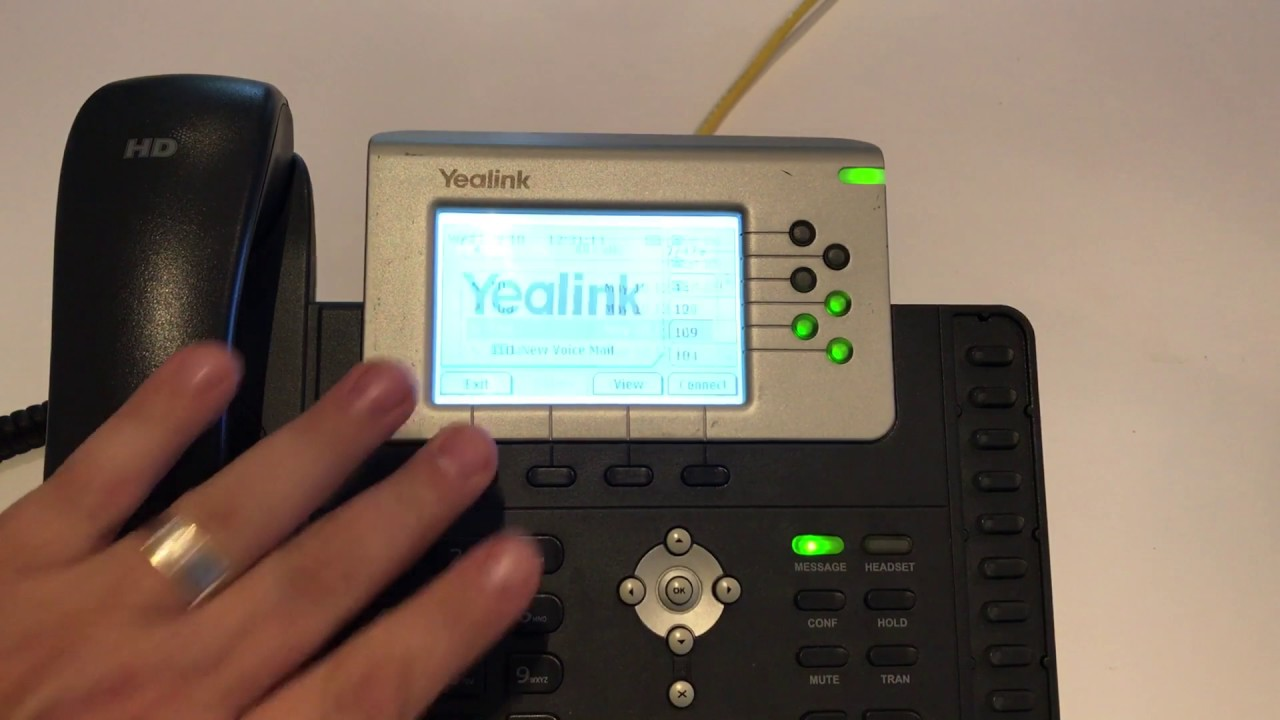 How to Blacklist a number on a Yealink phone