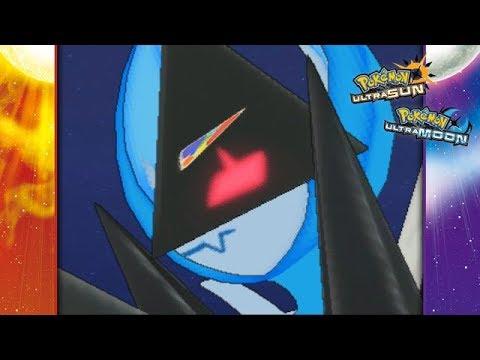 Pokemon Ultra Sun and Ultra Moon - Necrozma Wings of Dawn