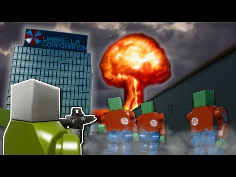 ZOMBIE APOCALYPSE MISSION! - Brick Rigs Multiplayer Gameplay - Lego Resident Evil Zombie Survival
