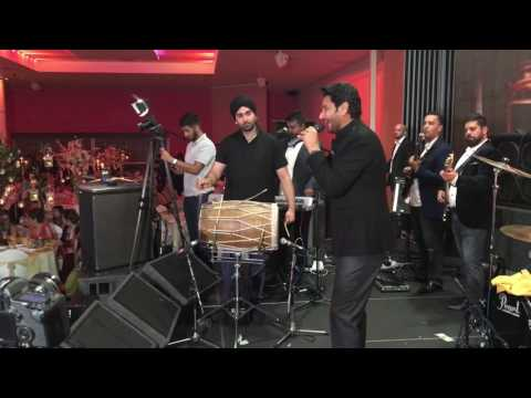 Harbhajan Mann Live With The Bhangra All Stars Band in the UK