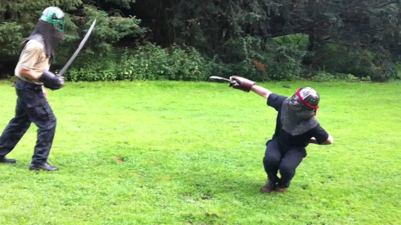 Holmgang Hamburg - Training im Stadtpark - YouTube