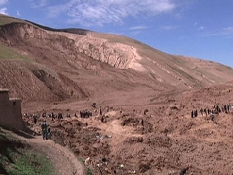 Afghanistan landslide: Thousands may be buried