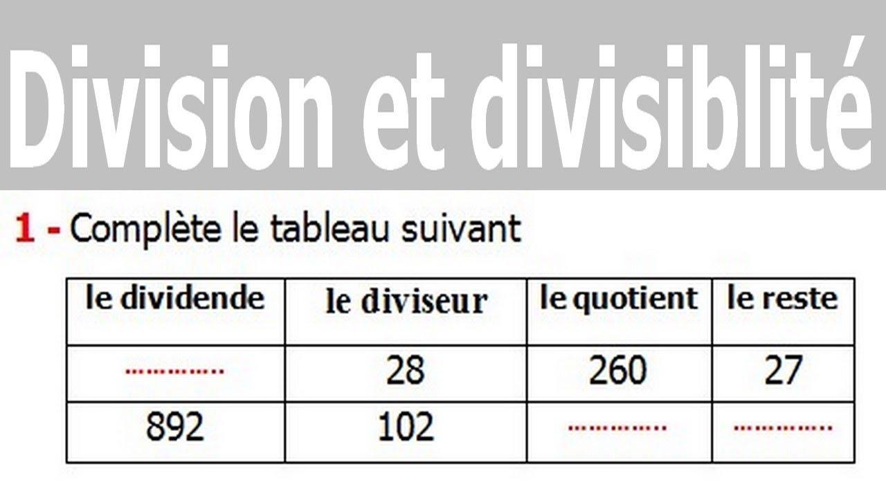 Maths 6ème - Division et divisibilité Exercice 12 - YouTube