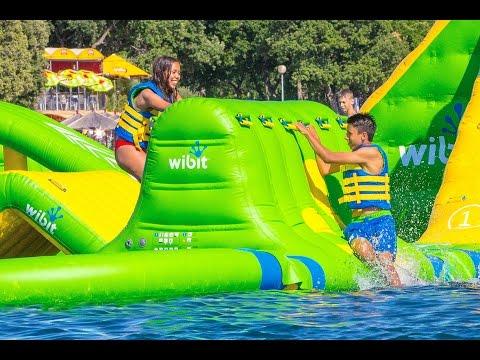 Parc aquatique Wibit Les Gets / Wibit waterpark Les Gets