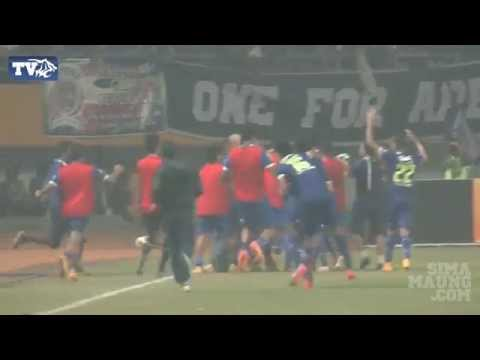 Highlight Persib vs Arema Semifinal ISL 2014