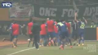 Highlight Persib vs Arema Semifinal ISL 2014