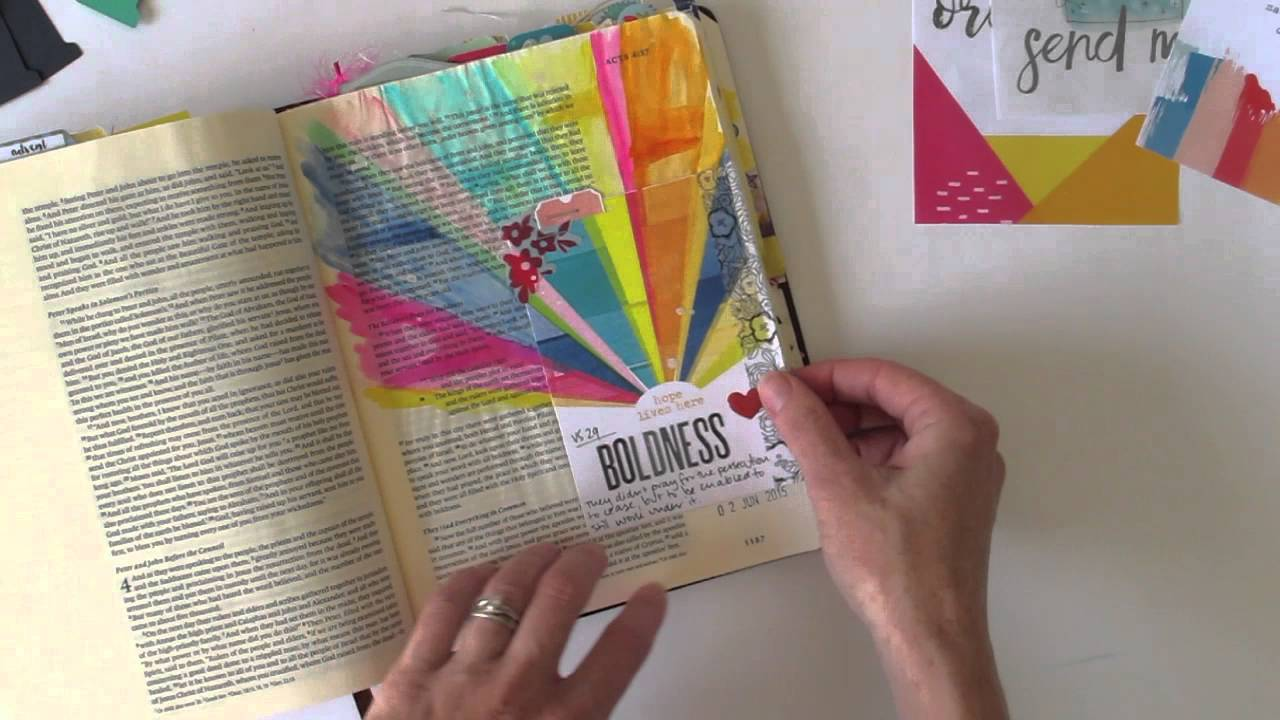 Using Printables In Your Bible Journaling By Natalie Elphinstone