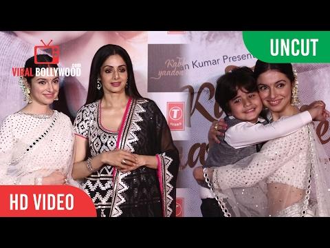 UNCUT - Kabhi Yaadon Mein Song Launch | Sridevi, Divya Khosla Kumar | T-series