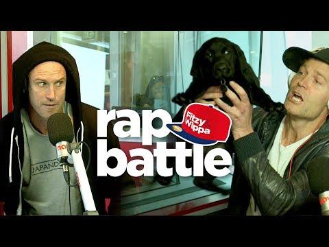 PUPPIES!! Dr Chris Brown's rap battle weapon against Fitzy!