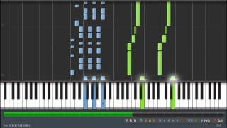 Super Mario STAR POWER THEME - Synthesia - PERFECT VERSION