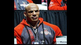 Big Ramy At The Press Conference Mr Olympia 2017