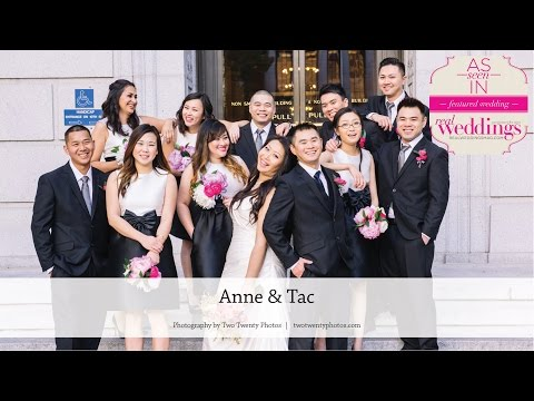 Sacramento Wedding: Anne & Tac from the Summer/Fall 2016 issue of Real Weddings Magazine