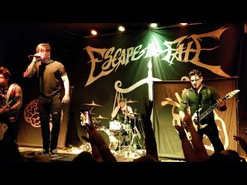 Escape the Fate live Club Red Mesa Az 05/08/2018