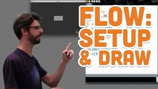 3.1: Flow (setup and draw) - Processing Tutorial