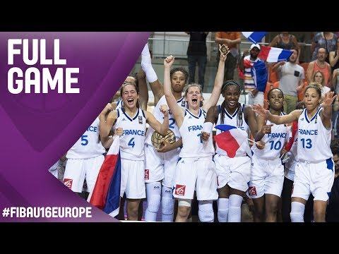 France v Hungary - Live - Final - FIBA U16 Women's European Championship 2017