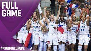 France v Hungary - Full Game - Final - FIBA U16 Women's European Championship 2017