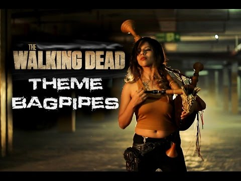 The Walking Dead Theme Cover (Bagpipes) | The Snake Charmer