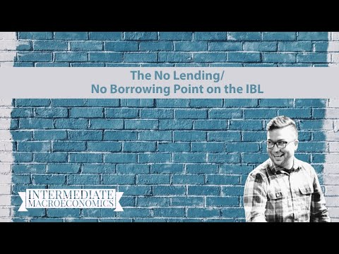 The No Lending/No Borrowing Point on the IBL