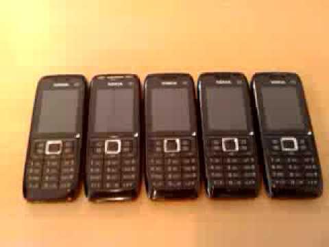 Nokia E51 x 5