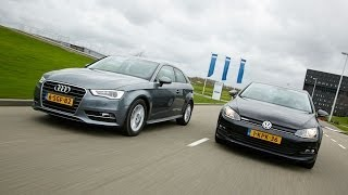 Volkswagen Golf Bluemotion vs. Audi A3 Ultra