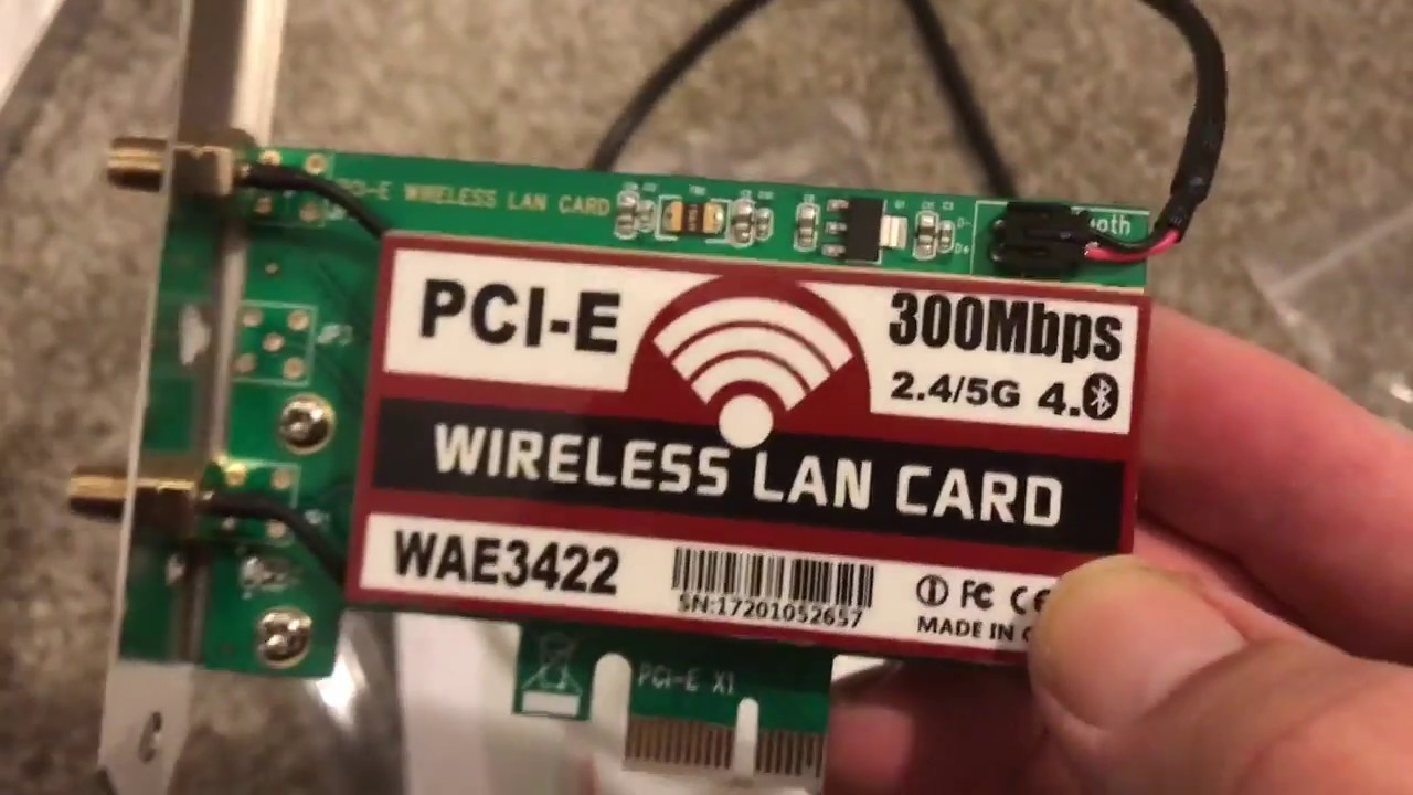 How to add a WiFi card and antennas to a desktop PC